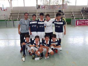 Campeones comunales copa ENEL